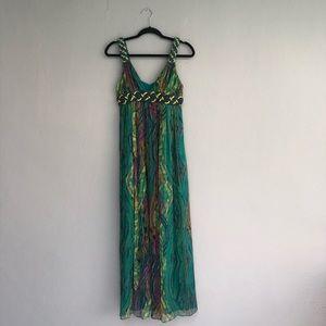 Catherine Malandrino maxi dress size 4